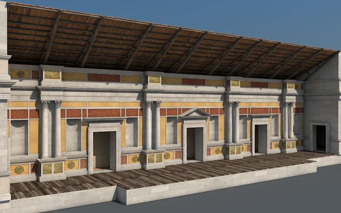Ricostruzioni 3d in archeologia e realt aumentata for Programma per casa virtuale