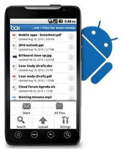 Box Impresa Mobile: introduzione di Box per Android