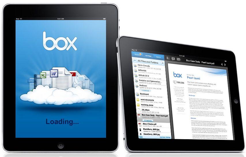 Box App per iPad: un nuovo modo di affrontare la gestione dei contenuti
