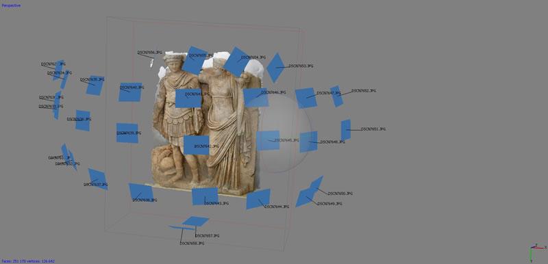 fotomodellazione ricostruzione 3d - foto texturizzata