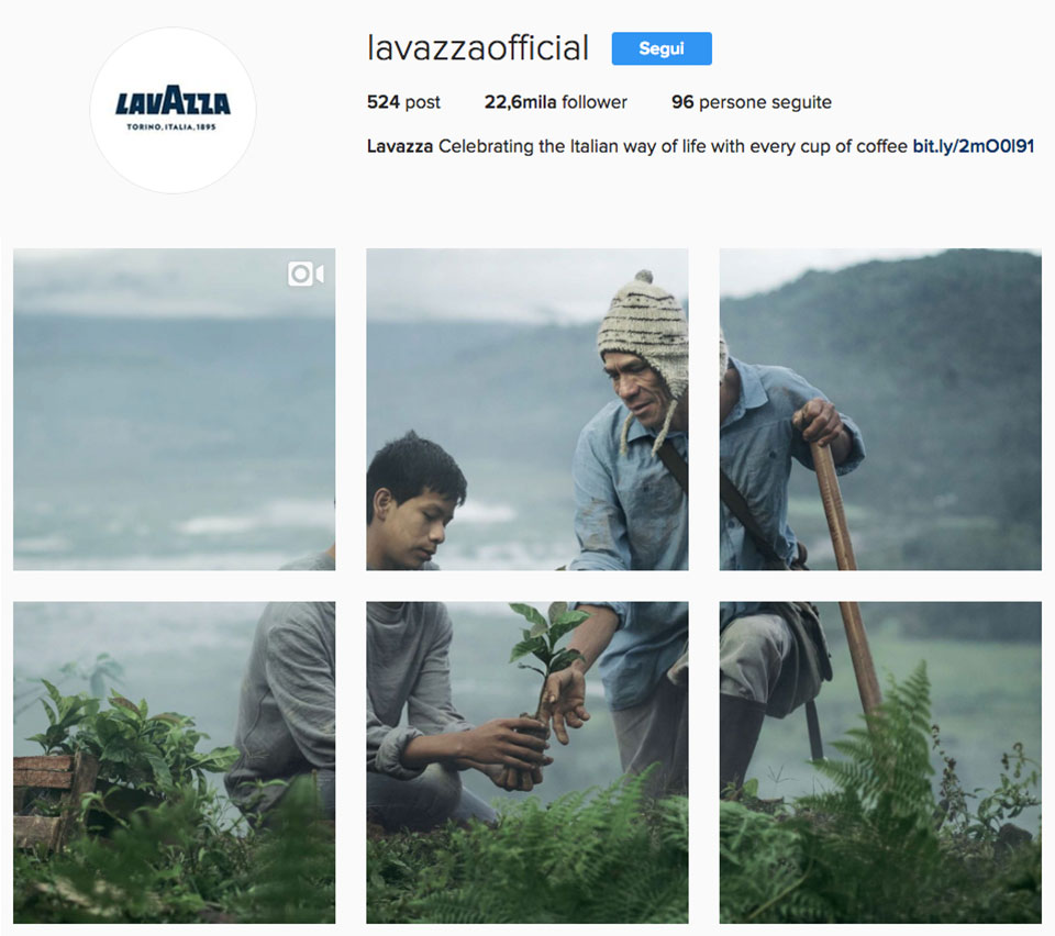 Instagram Lavazza