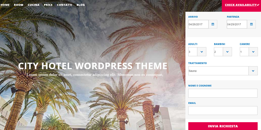 city-hotel tema wordpress