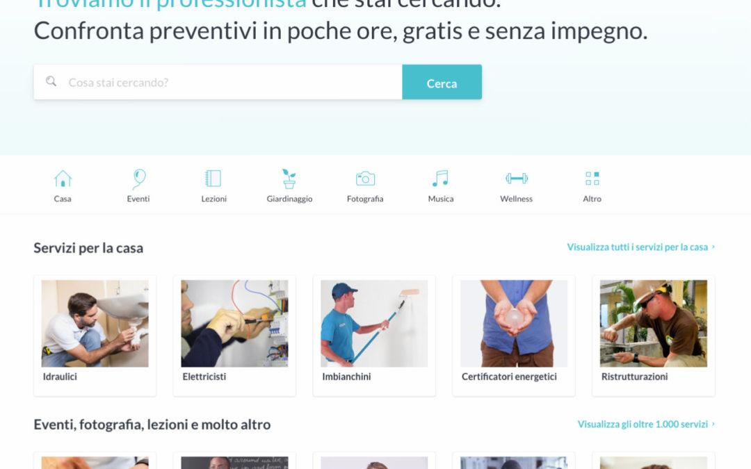ProntoPro: un nuovo modo di trovare professionisti o artigiani