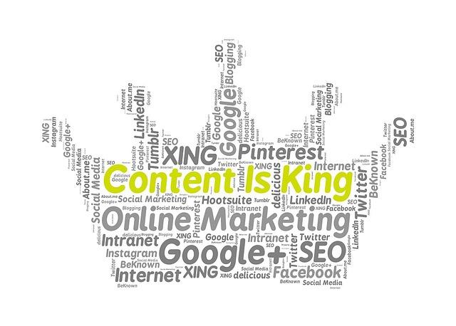 Content is King organizzare il tuo Content Marketing