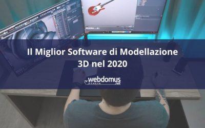 Il Miglior Software di Modellazione 3D nel 2020